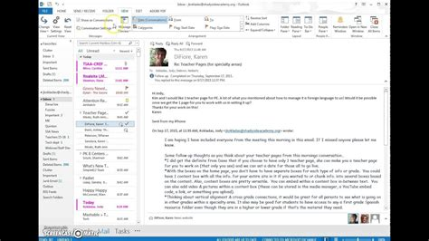Outlook & Office 365 eMail View and tag Options - YouTube
