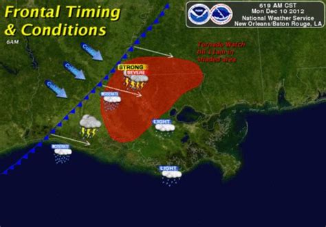 NWS New Orleans/Baton Rouge -- December 10, 2012 Severe