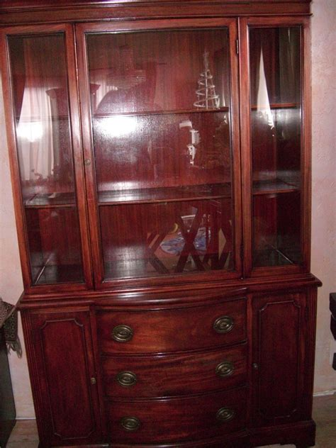I Have This Antique China Hutch, I Think Maybe From The 40