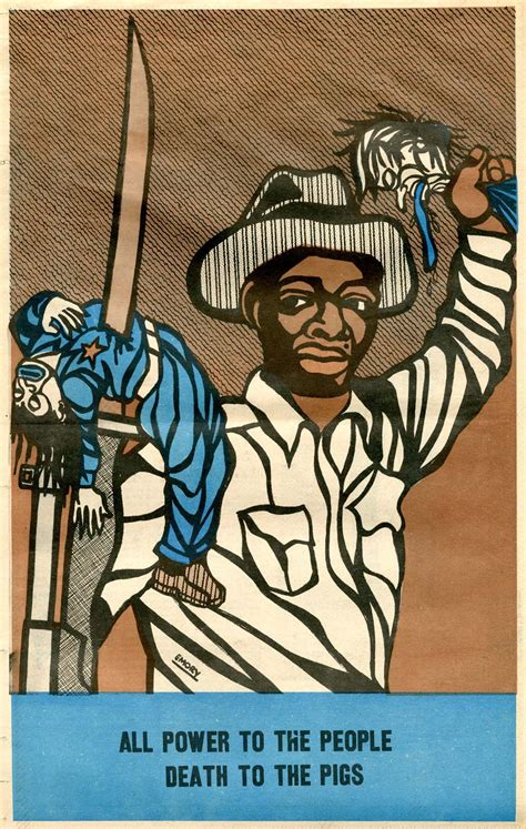 Emory Douglas and the visual language of the Black Panther