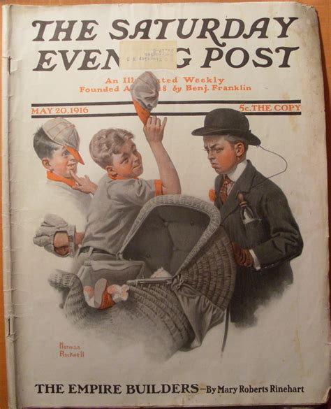 Norman Rockwell Saturday Evening Post 1916