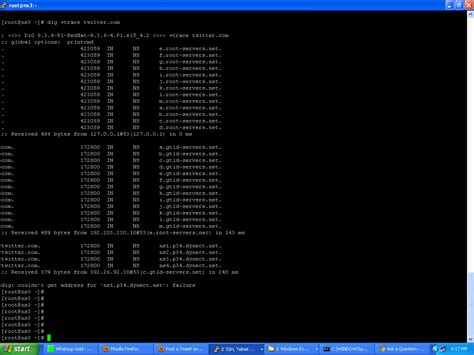 linux - DNS lookup failed --- dig: couldn't get address