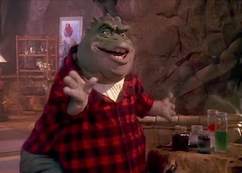Earl Sinclair From Early 90's 'Dinosaurs' Sitcom Performs