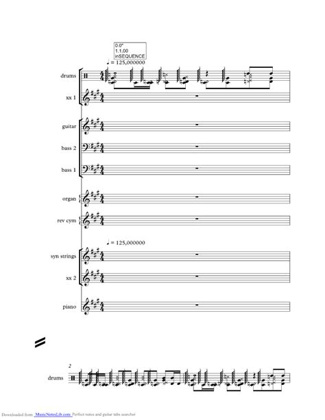 The Way music sheet and notes by Fastball @ musicnoteslib