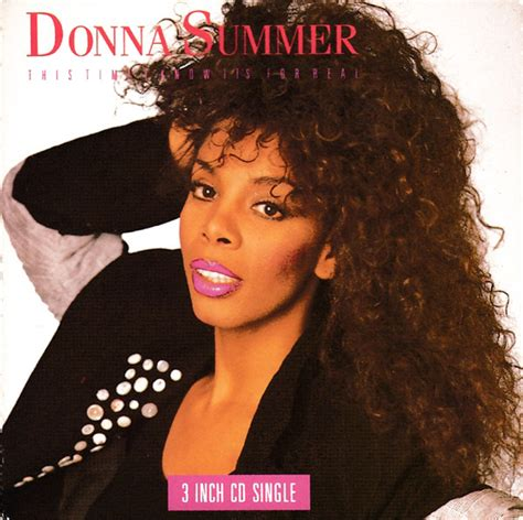 Donna Summer - This Time I Know It's For Real (1989, CD