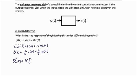 ECE205 Lecture 5-2: Impulse and Step Response of a System