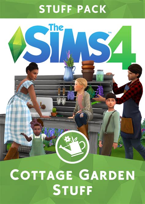 The Sims 4 Cottage Garden Custom Stuff Pack is now