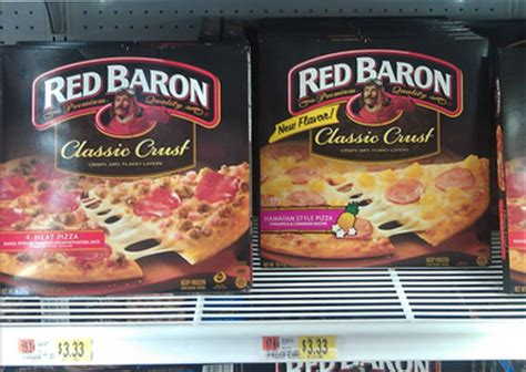 Red Baron Pizza Only $2