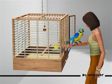 mensure's Cottage Garden_Bird Cage | Sims 4 pets, Sims