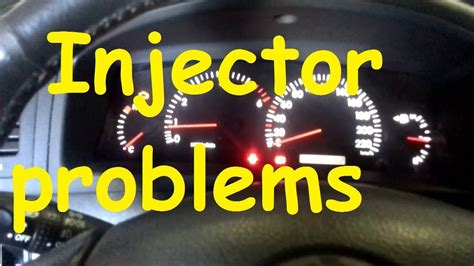 Toyota Injector problems /Car not start / Corolla Verso
