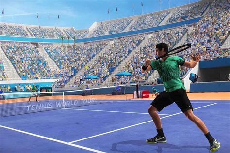 Tennis World Tour Release Date Confirmed For PS4, Xbox One
