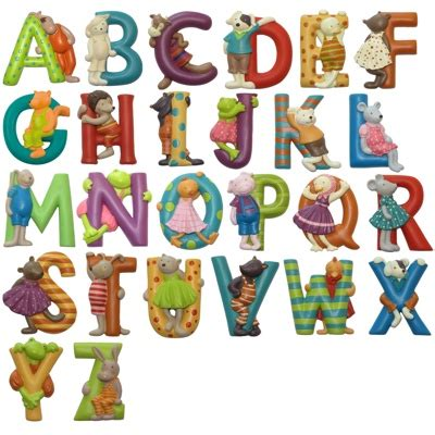 Lettres alphabet Moulin Roty