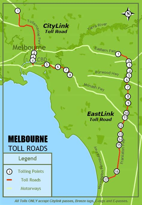 Discovery Campervans Australia - Toll Roads