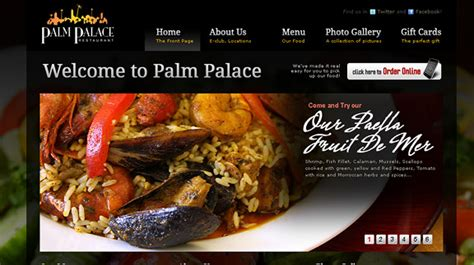 31 Really Amazing Food Websites for your Design