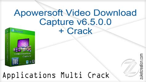 Apowersoft Video Download Capture v6