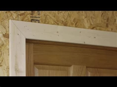 How to Install Door Trim on a Jamb That Is Not Square