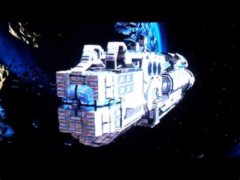 Fantastic Halo 4 Forge Maps: Spaceship Space Fight - YouTube