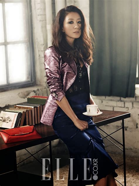 Kim Hee Ae and Yoo Ah In for Elle + Kim Hee Ae for 1st