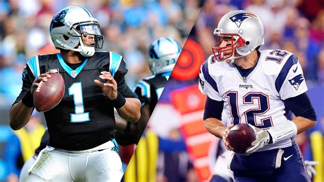 Sizing up the MVP race between Cam Newton and Tom Brady - NFL