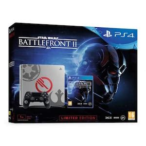 Pack console PS4 Slim 1 To + Star Wars Battlefront II