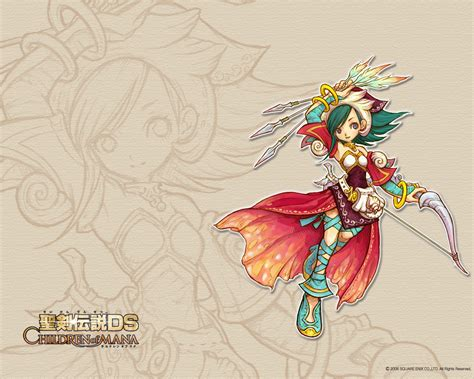 Children of Mana Fiche RPG (reviews, previews, wallpapers
