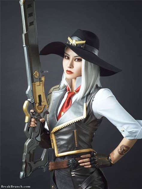Awesome Ashe cosplay from Overwatch by 猫小朵(catxiaoduo) (9