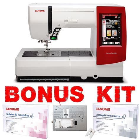 Janome Memory Craft 9900 Sewing & Embroidery Machine with