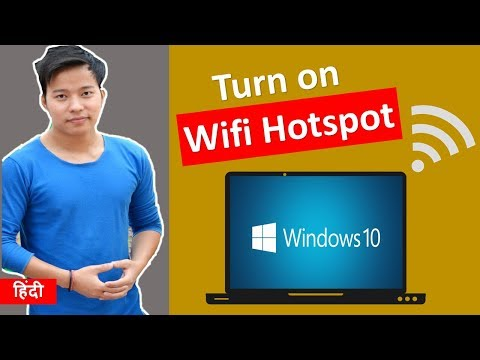 How to turn your Windows 10 laptop into a WiFi hotspot
