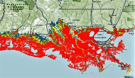 New storm-surge maps from Weather Service show worst-case