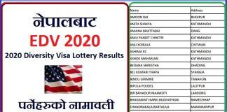 EDV Result 2020 Archives - GBS Note