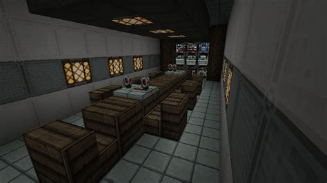 FF7 Shinra Inspired Building Minecraft Project