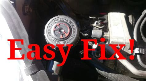How To Fix A Power Steering Problem On A Peugeot 407