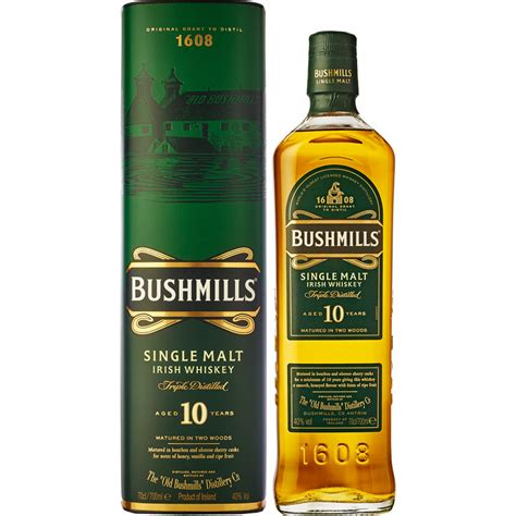 Whiskey Bushmills 10 ans 70cl 40'