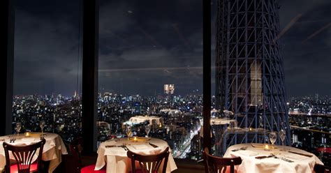 Tokyo: Skytree with Lunch/Dinner at a Panoramic Restaurant