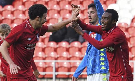 Match report: U19s seal Youth League progress with Napoli
