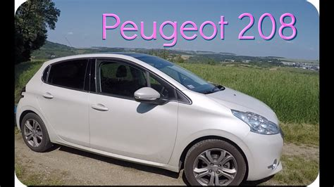 Peugeot 208 - satin white (pearlescent paint, blanc perle