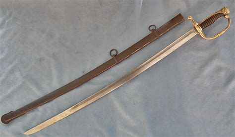 SOLD Scarce antique Turkish Ottoman Naval officer's Sword