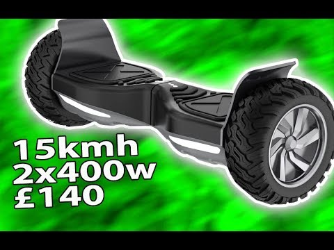 Hoverboard Segway Off Road Review - YouTube