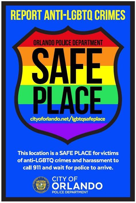 Orlando police launch 'safe place' initiative for LGBT