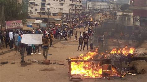 Government censors coverage of anglophone minority unrest