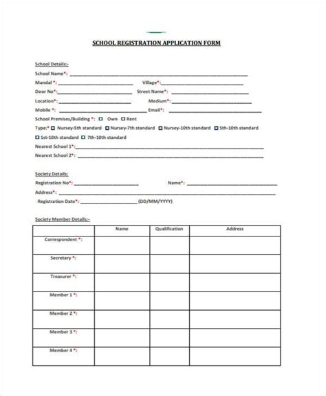 FREE 51+ Application Forms in PDF   MS Word   Excel