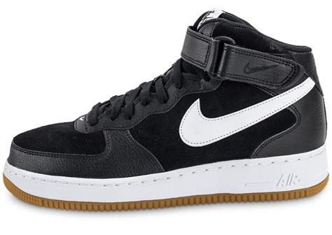 Nike Air Force 1 Mid '07 noire - Chaussures Baskets homme