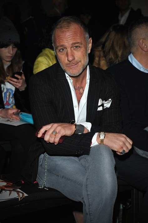 Gianluca Vacchi in Front Row at the Kristina T Show - Zimbio