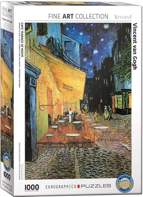 The Cafe Terrace at Night Jigsaw Puzzle by Van Gogh