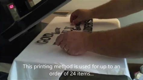 How to make your t shirt with a Heat Press and Vinyl