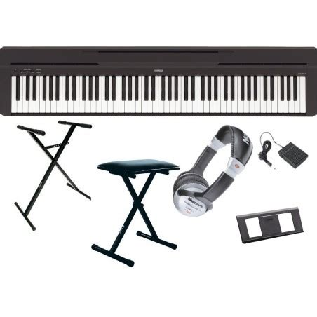 P45 FULL PACK - Yamaha - Claviers - Pianos - Pianos portables