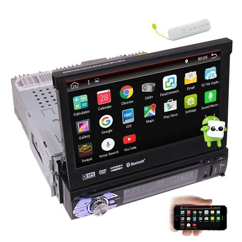 EinCar Online   4G Dongle Included! Quad Core Car Stereo