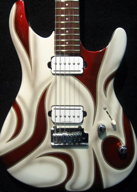 Midwest Custom Guitar Painting | Imagination Made Simple