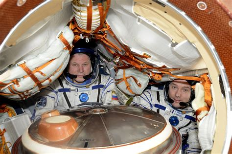 Soyuz Spacecraft set for Pre-Sunset Landing with Two Space