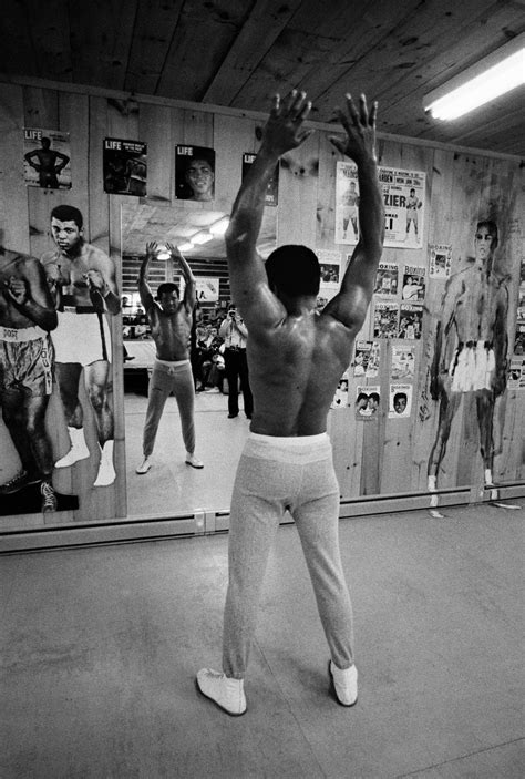 """Photos Of Muhammad Ali At """"Fighter's Heaven"""" in"""
